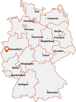 Wo liegt Rommerskirchen