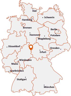 Wo liegt Ronshausen