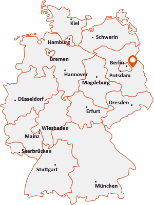 Wo liegt Rüdersdorf bei Berlin