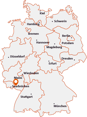 Wo liegt Saalstadt