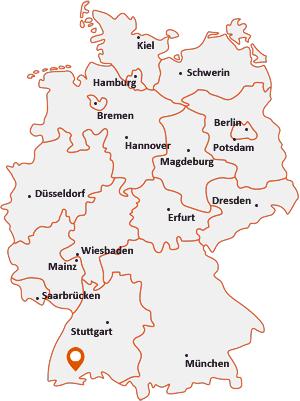 Wo liegt Schluchsee