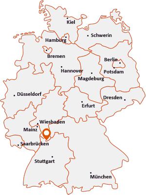 Wo liegt Schönau (Odenwald)