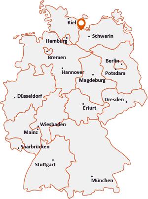 Wo liegt Schönberg (Mecklenburg)