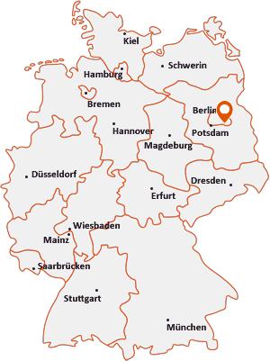 Wo liegt Schönefeld