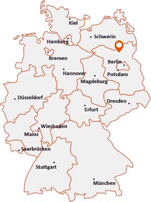 Wo liegt Schönermark (Land Ruppin)