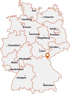 Wo liegt Schönwald (Bayern)