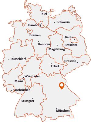 Wo liegt Schwandorf