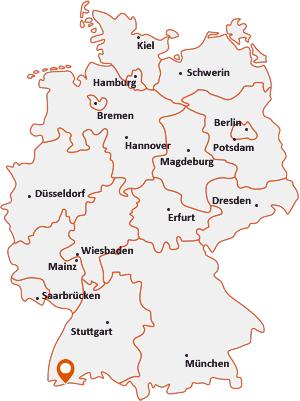 Wo liegt Schwörstadt