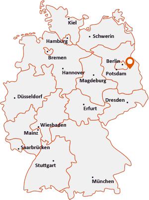 Wo liegt Spreenhagen