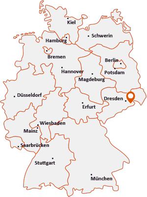 Wo liegt Stadt Wehlen