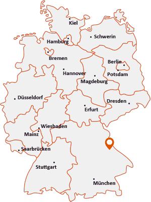 Wo liegt Stamsried
