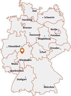 Wo liegt Staufenberg (Hessen)