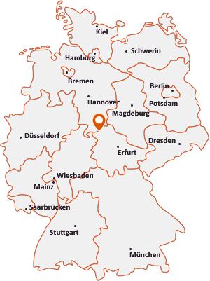 Wo liegt Steinbach (Eichsfeld)