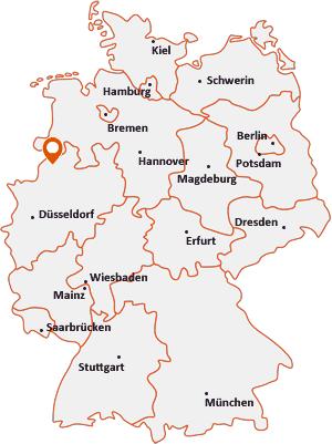Wo liegt Steinfurt