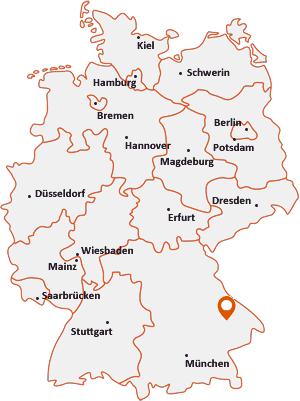 Wo liegt Stephansposching