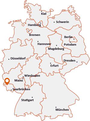 Wo liegt Taben-Rodt