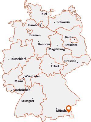 Wo liegt Teisendorf