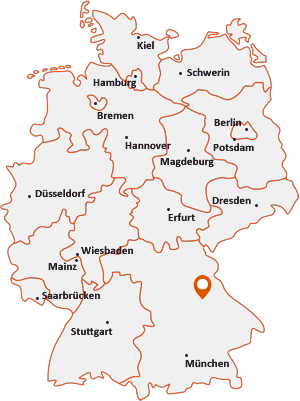 Wo liegt Teublitz