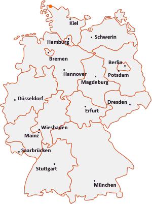 Wo liegt Tinningstedt
