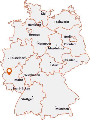 Wo liegt Üdersdorf