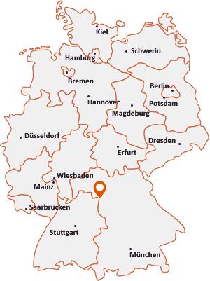 Wo liegt Uffenheim
