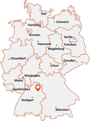 Wo liegt Untermünkheim