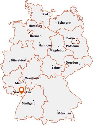 Wo liegt Waldhambach