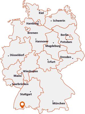 Wo liegt Waldshut-Tiengen