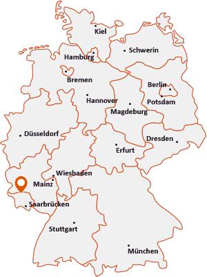 Wo liegt Waldweiler