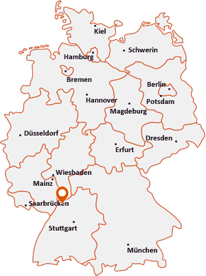 Wo liegt Walldorf (Baden)