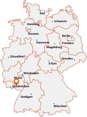 Wo liegt Weselberg