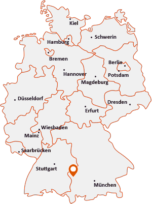 Wo liegt Wiesenbach (Schwaben)