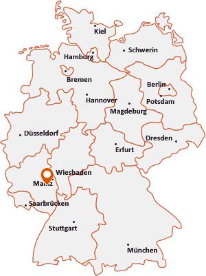 Wo liegt Wöllstein