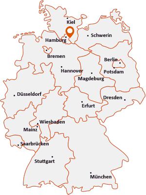 Wo liegt Wohltorf