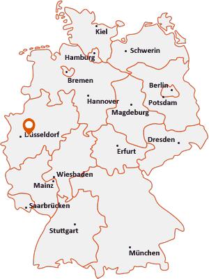 Wo liegt Wuppertal