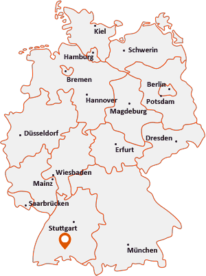 Wo liegt Wurmlingen