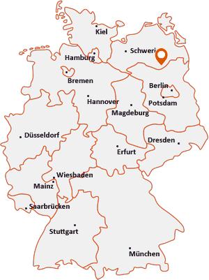 Wo liegt Wustrow bei Wesenberg