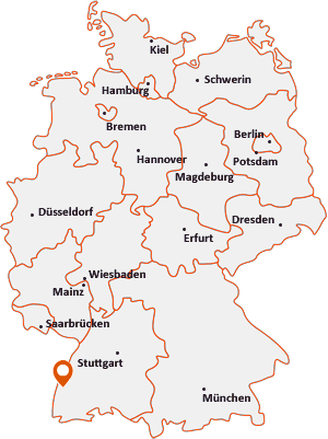 Wo liegt Wyhl am Kaiserstuhl