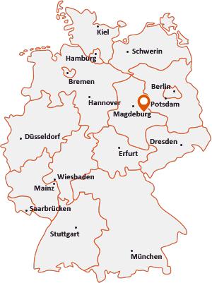 Wo liegt Zerbst/Anhalt