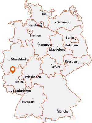 Wo liegt Kirchwald