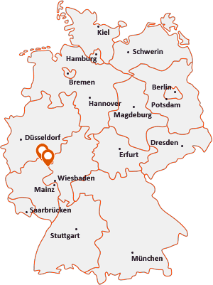 Orte mit Bero auf der Deutschlandkarte