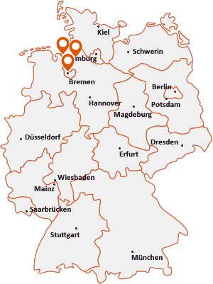 Orte mit Breme auf der Deutschlandkarte