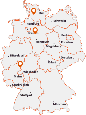 Orte mit Had auf der Deutschlandkarte