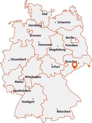 Orte mit Olb auf der Deutschlandkarte