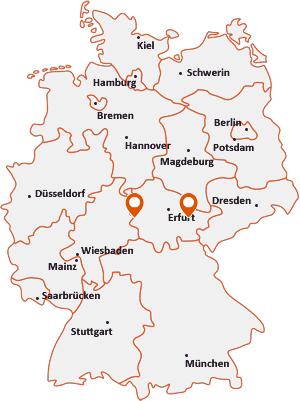Orte mit Unterb auf der Deutschlandkarte