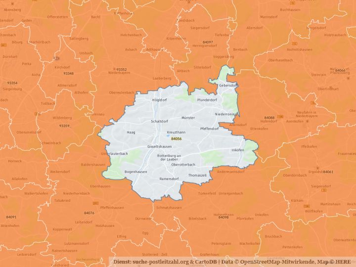 84056 Rottenburg an der Laaber