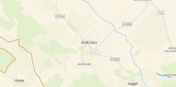 Straßenkarte mit Hausnummern Zehrental