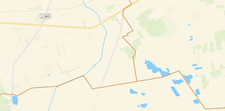 Straßenkarte mit Hausnummern Wehrblecker Heide