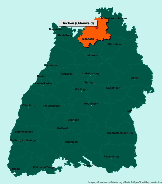 Bundesland Karte Mit Städten.Orte Die Mit Buche Beginnen Deutsche Städte Mit Buche Auf Der Karte