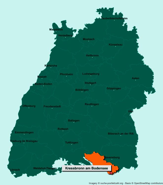 Postleitzahl Kressbronn Am Bodensee